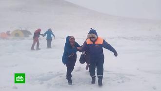 Иркутскую область накрыла метель ссильным ветром