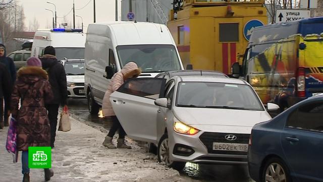 Пациенты петербургской больницы святителя Луки жалуются на транспортную блокаду