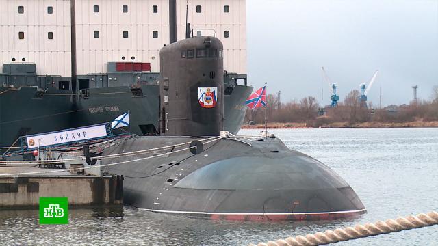 Подводники Балтийского флота всвой праздник выполняют поставленные задачи
