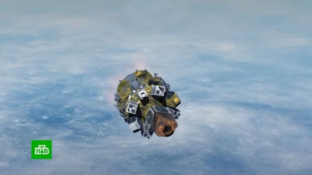 Ракета «Союз» вывела на орбиту 38спутников из 18стран.Байконур, Роскосмос, космонавтика, космос, спутники.НТВ.Ru: новости, видео, программы телеканала НТВ