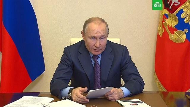 Путин сообщил, когда вакцинируется от коронавируса.Путин, коронавирус, вакцинация.НТВ.Ru: новости, видео, программы телеканала НТВ