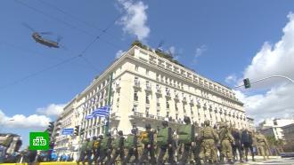 В столице Греции прошел военный парад