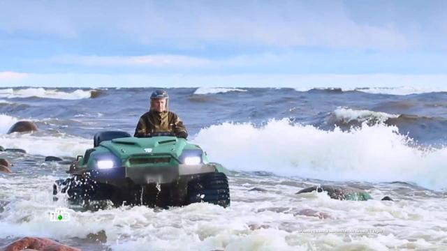 По горам, по долам: тест-драйв отечественных вездеходов.НТВ.Ru: новости, видео, программы телеканала НТВ