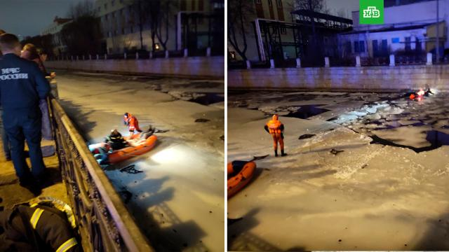 ВПетербурге машина пробила ограждение иупала вМойку.ДТП, МЧС, Санкт-Петербург, автомобили, реки и озера.НТВ.Ru: новости, видео, программы телеканала НТВ