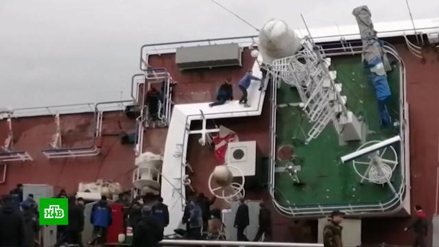 ВЛенинградской области завершили <nobr>поисково-спасательную</nobr> операцию на судоремонтном заводе