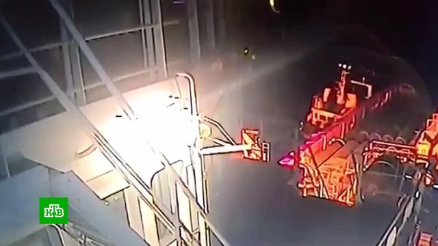Опубликовано видео атаки на трубоукладчик «Северного потока — 2».Газпром, Северный поток, газопровод.НТВ.Ru: новости, видео, программы телеканала НТВ