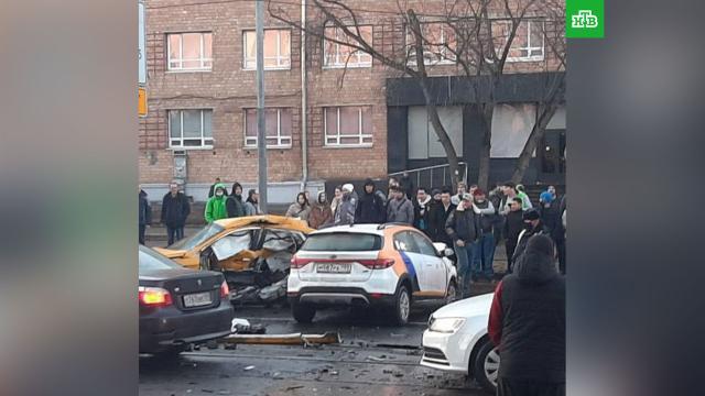 Два человека погибли врезультате ДТП на улице Орджоникидзе вМоскве.ДТП, Москва, аварии на транспорте, смерть.НТВ.Ru: новости, видео, программы телеканала НТВ