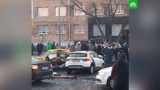 Два человека погибли врезультате ДТП на улице Орджоникидзе вМоскве