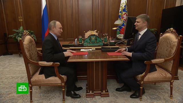 Путин обсудил с главой РЖД ремонт железнодорожных путей.Путин, РЖД, железные дороги, компании.НТВ.Ru: новости, видео, программы телеканала НТВ