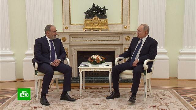 Путин пообещал помочь Армении «Спутником V».Армения, дипломатия, Путин.НТВ.Ru: новости, видео, программы телеканала НТВ