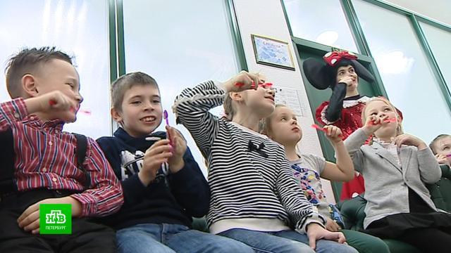 В Петербурге детей из многодетных семей бесплатно отвели в частную стоматологию