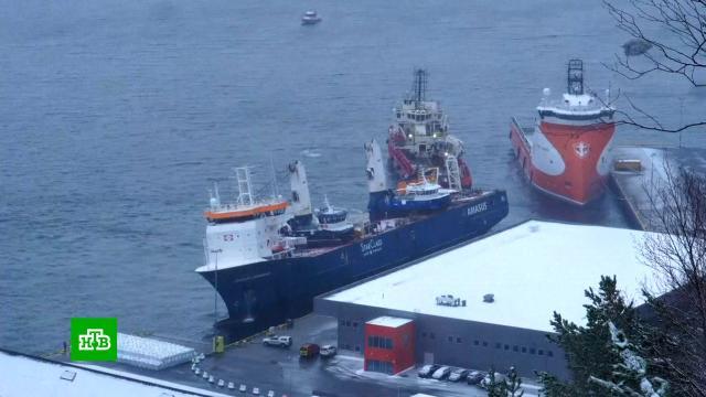 Дрейфовавшее уберегов Норвегии судно отбуксировали впорт.Нидерланды, Норвегия, корабли и суда.НТВ.Ru: новости, видео, программы телеканала НТВ