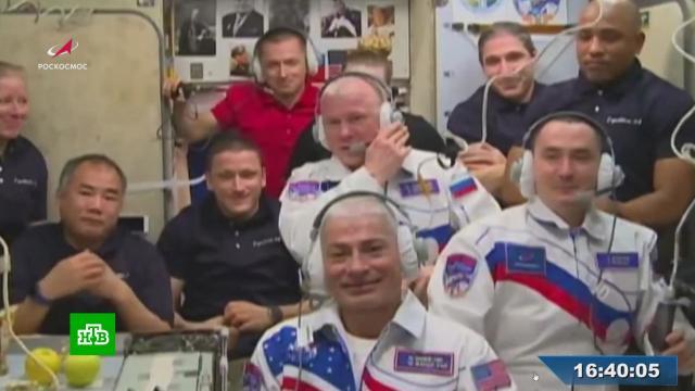 Экипаж «Ю.А.Гагарина» перешел на МКС.МКС, космонавтика, космос.НТВ.Ru: новости, видео, программы телеканала НТВ