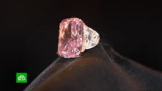 Редчайший розовый бриллиант «Сакура» выставили на аукцион.Китай, аукционы, бриллианты.НТВ.Ru: новости, видео, программы телеканала НТВ
