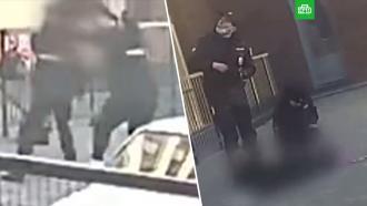 Спасалась от насильников: в Барнауле полицейские поймали спрыгнувшую с 3-го этажа девушку