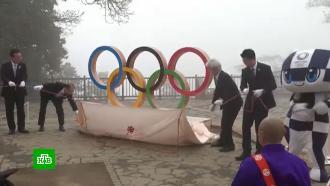 ВТокио запустили обратный отсчет до Олимпиады