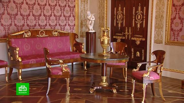 После реставрации в Елагиноостровском дворце появились уникальные интерьеры