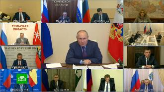 Путин призвал чиновников «пройти ножками» для решения социальных проблем