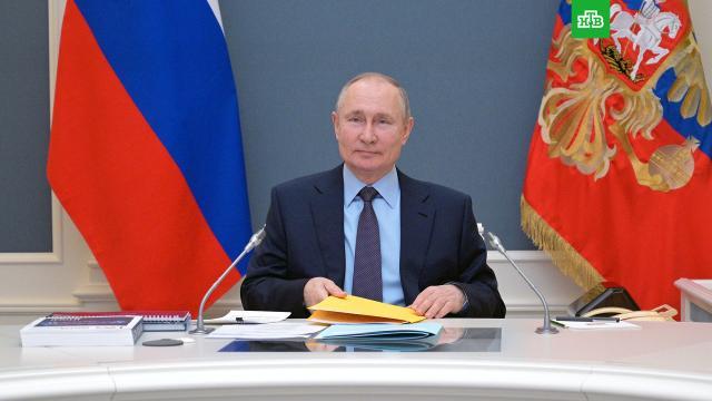 Песков рассказал осамочувствии Путина после второй прививки от COVID-19.Песков, Путин, вакцинация, коронавирус, прививки.НТВ.Ru: новости, видео, программы телеканала НТВ