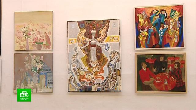 Петербургские монументалисты приглашают на юбилейную выставку.Санкт-Петербург, выставки и музеи, живопись и художники.НТВ.Ru: новости, видео, программы телеканала НТВ