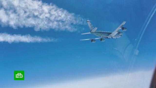 МиГ-31 вылетал на перехват самолета-разведчика США упобережья Камчатки.США, армия и флот РФ, самолеты.НТВ.Ru: новости, видео, программы телеканала НТВ