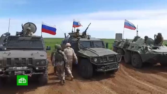 Российские итурецкие военные провели 150-е совместное патрулирование на северо-востоке Сирии.Сирия, Турция, армии мира, армия и флот РФ.НТВ.Ru: новости, видео, программы телеканала НТВ