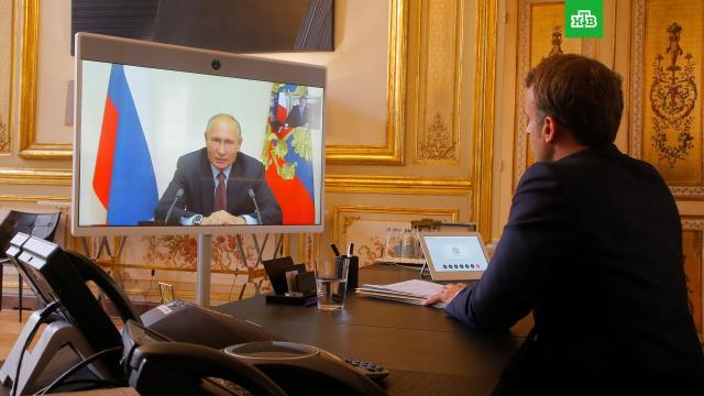 В Париже сообщили о скорых переговорах Макрона и Путина.Эммануэль Макрон в ближайшее время намерен провести переговоры с Владимиром Путиным.Макрон, Путин, дипломатия.НТВ.Ru: новости, видео, программы телеканала НТВ