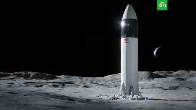 NASA выбрало компанию Маска для доставки астронавтов на Луну.SpaceX, компания Илона Маска, выиграла контракт NASA на разработку и строительство посадочного модуля для доставки астронавтов на Луну в рамках программы Artemis. Об этом сообщается на сайте космического агентства.Илон Маск, Луна, НАСА, космос.НТВ.Ru: новости, видео, программы телеканала НТВ