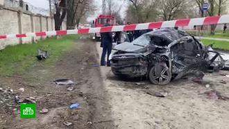 Легковушка сподростком за рулем врезалась вдерево под Ростовом: пятеро погибли