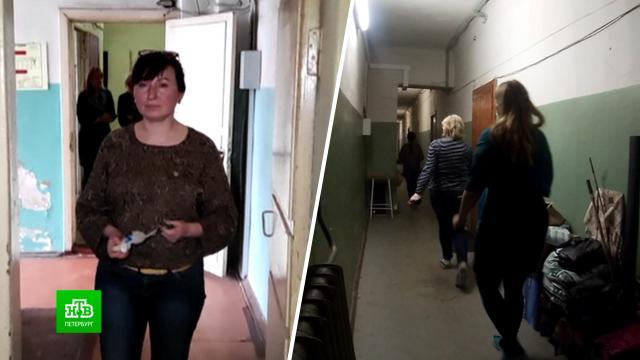 Собственник бывшего общежития пытается избавиться от его обитателей.Санкт-Петербург, жилье, общежитие.НТВ.Ru: новости, видео, программы телеканала НТВ