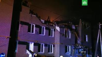 Младенца достали живым <nobr>из-под</nobr> завалов горящего дома вНижегородской области