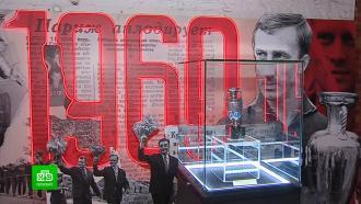 Вчесть <nobr>Евро-2020</nobr> вПетербурге открылось спортивное <nobr>арт-пространство</nobr>