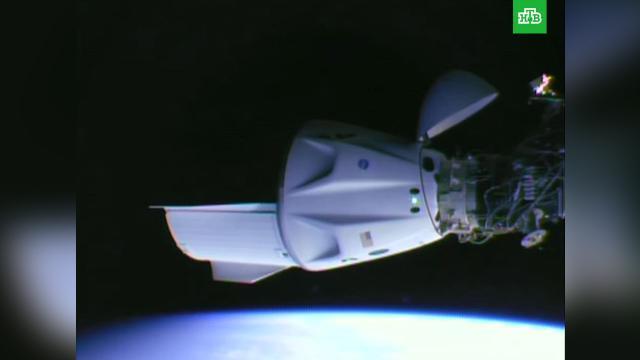 Корабль Crew Dragon пристыковался кМКС.МКС, космонавтика, космос.НТВ.Ru: новости, видео, программы телеканала НТВ