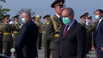 Пашинян поблагодарил Байдена за признание геноцида армян.НТВ.Ru: новости, видео, программы телеканала НТВ
