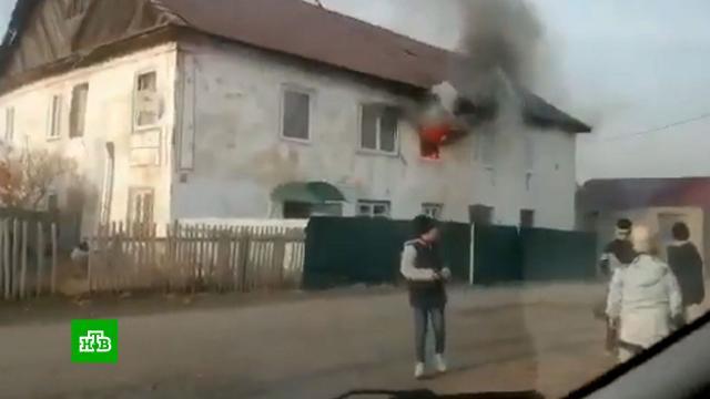 В Хакасии задержана мать троих детей, погибших при пожаре.Хакасия, дети и подростки, задержание, пожары, смерть.НТВ.Ru: новости, видео, программы телеканала НТВ