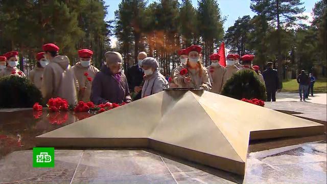«Газпром» реконструировал Вечный огонь на мемориале в Кингисеппе