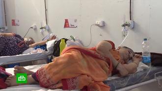 Индия получила от России аппараты ИВЛ илекарства вкачестве гуманитарной помощи