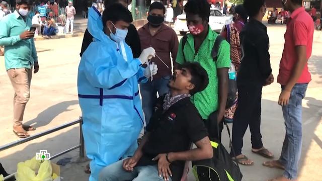 «Лекарства не работают»: чем опасен индийский штамм коронавируса