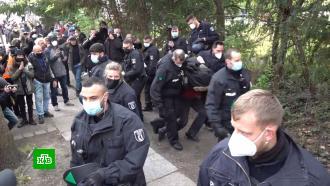 Первомайские демонстрации вЕвропе завершились массовыми беспорядками