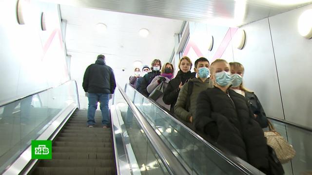 ВМоскве не планируют отменять масочно-перчаточный режим.Москва, коронавирус, эпидемия.НТВ.Ru: новости, видео, программы телеканала НТВ