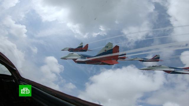 Пилотажная группа «Стрижи» отмечает 30-летие.авиация, памятные даты, самолеты.НТВ.Ru: новости, видео, программы телеканала НТВ