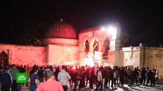 Палестина требует созыва Совбеза ООН из-за боев в Восточном Иерусалиме
