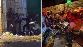 Свыше 200человек пострадали встолкновениях вВосточном Иерусалиме