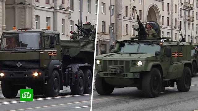 По Красной площади пройдут 37парадных расчетов иболее 190единиц военной техники