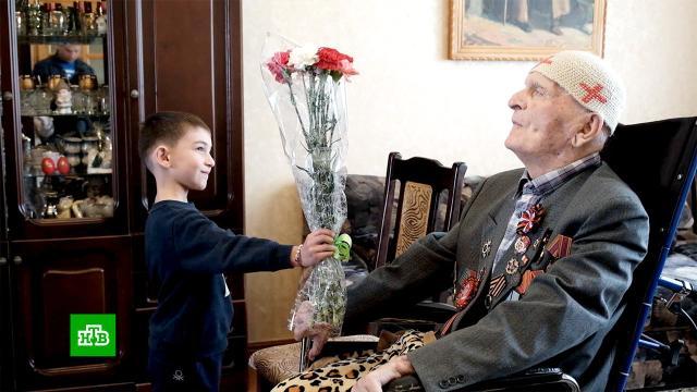 Старейший ветеран Великой Отечественной отмечает 105-й день рождения.Великая Отечественная война, Северная Осетия, ветераны, история.НТВ.Ru: новости, видео, программы телеканала НТВ