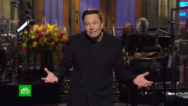 На Илона Маска обрушился шквал критики за участие вюмористическом шоу.Илон Маск, США, криптовалюты, шоу-бизнес.НТВ.Ru: новости, видео, программы телеканала НТВ