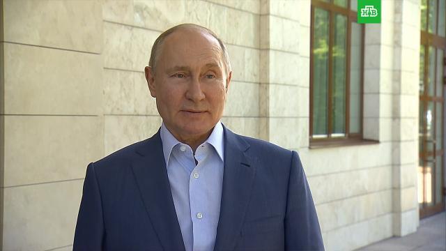 Путин призвал активно вакцинироваться от коронавируса.Путин, вакцинация, коронавирус, эпидемия.НТВ.Ru: новости, видео, программы телеканала НТВ