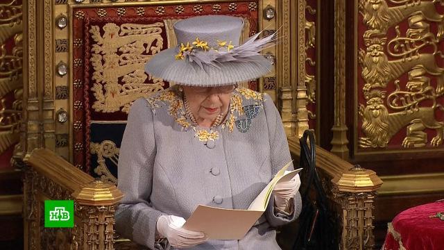 ЕлизаветаII призвала принять закон оборьбе свраждебными странами.Великобритания, Елизавета II.НТВ.Ru: новости, видео, программы телеканала НТВ