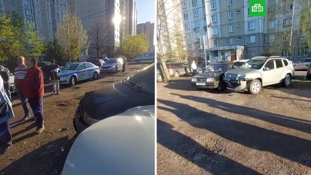 Подростки на «Ладе» протаранили восемь машин вМоскве.НТВ.Ru: новости, видео, программы телеканала НТВ