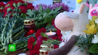 Петербуржцы несут цветы иигрушки кпредставительству Татарстана
